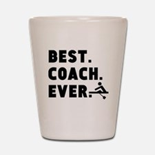 Best Coach Ever Rowing Shot Glass