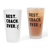 Best coach ever skiing Pint Glasses