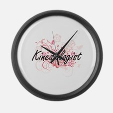 Kinesiologist Artistic Job Design Large Wall Clock