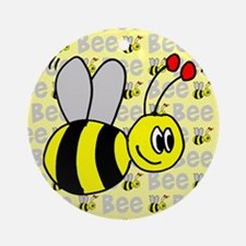 Bumble Bee Ornament (Round)