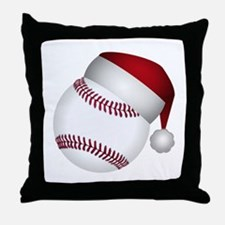 Cute Baseball glove Throw Pillow