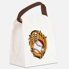 Cute Baseball Canvas Lunch Bag