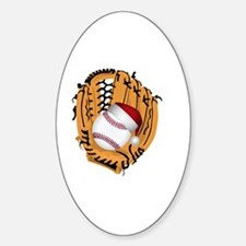 Cute Baseball christmas Decal
