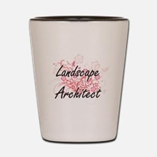 Landscape Architect Artistic Job Design Shot Glass