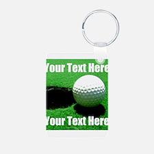 Golfball Keychains