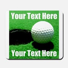 Golfball Mousepad
