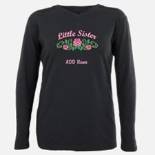 Personalized Little Sister Plus Size Long Sleeve T