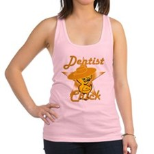 Dentist Chick #10 Racerback Tank Top