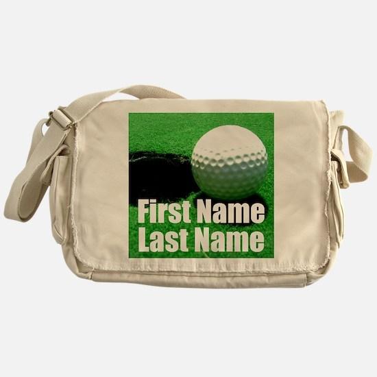 Golfball Messenger Bag