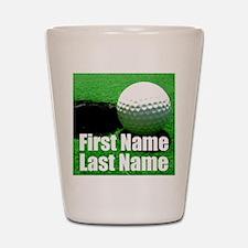 Golfball Shot Glass
