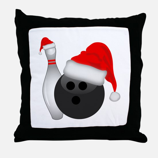 Unique Bowling Throw Pillow