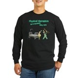 Physical therapy Long Sleeve T-shirts (Dark)