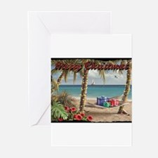 Cool Beach christmas Greeting Cards (Pk of 10)
