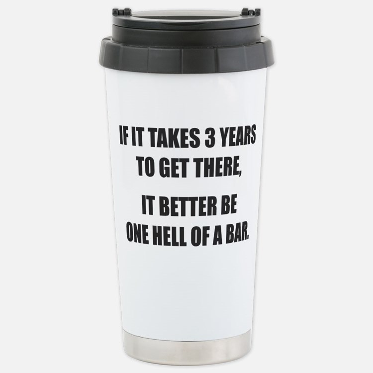 Bar Exam Stainless Steel Travel Mug