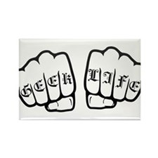 Geek life fists Magnets