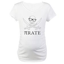 Pi - rate - Geek skull pirate Shirt