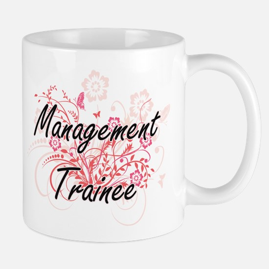Management Trainee Artistic Job Design with F Mugs