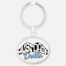 MustDash Moustache Keychains