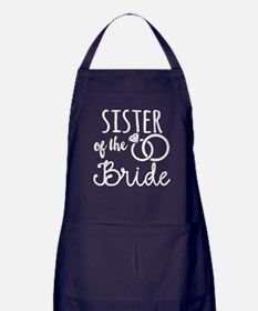 Sister of the Bride Apron (dark)