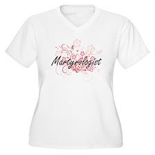 Martyrologist Artistic Job Desig Plus Size T-Shirt