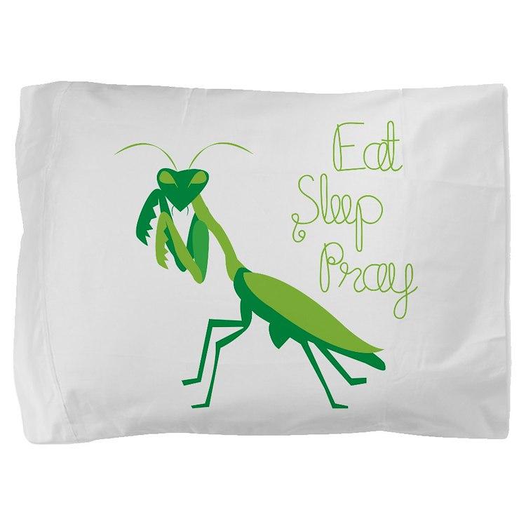 Eat Sleep Pray Pillow Sham