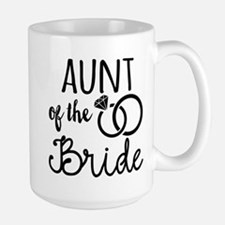 Aunt of the Bride Large Mug