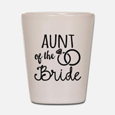Aunt of the Bride Shot Glass