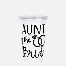 Aunt of the Bride Acrylic Double-wall Tumbler