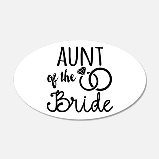 Aunt of the Bride Wall Decal