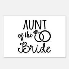 Aunt of the Bride Postcards (Package of 8)