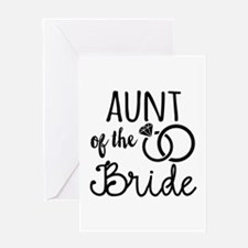 Aunt of the Bride Greeting Card