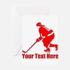 Hockey Greeting Cards