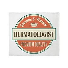 dermatologist Throw Blanket