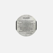 Soldiers Mini Button (10 pack)