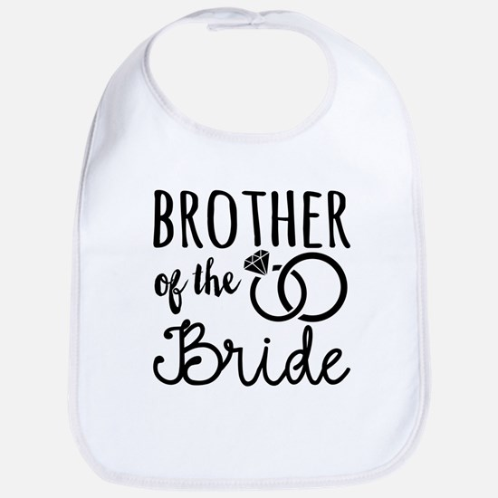 Brother of the Bride Bib