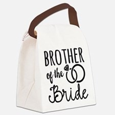 Brother of the Bride Canvas Lunch Bag