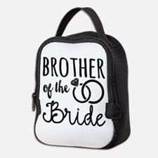 Brother of the Bride Neoprene Lunch Bag