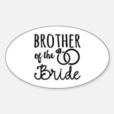 Brother of the Bride Decal