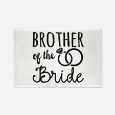 Brother of the Bride Rectangle Magnet