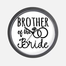 Brother of the Bride Wall Clock
