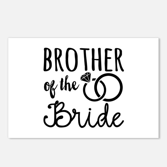 brother of the bride Postcards (Package of 8)