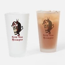 Krampus Gotcha! Drinking Glass