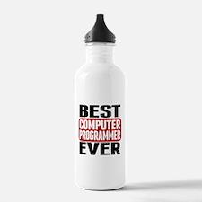 Best Computer Programmer Ever Water Bottle
