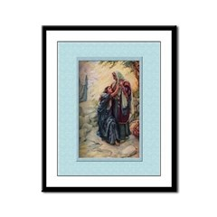 Ruth and Naomi - Copping - 9x12 Framed Print