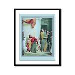 Jesus and the Children-Bloch-9x12 Framed Print
