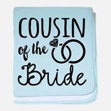 Cousin of the Bride baby blanket