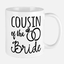 Cousin of the Bride Small Mugs