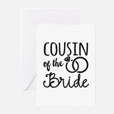 Cousin of the Bride Greeting Cards (Pk of 20)