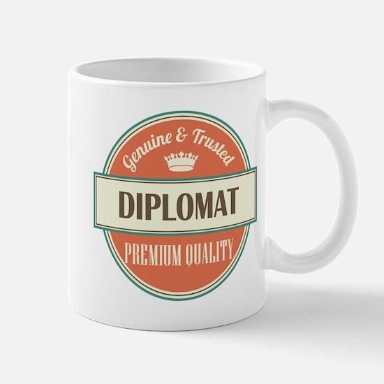 diplomat vintage logo Mug