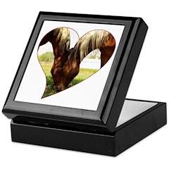 Horse Love Keepsake Box